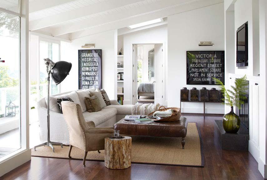 Contemporary Country Living Room Awesome How to Blend Modern and Country Styles within Your Home S Decor