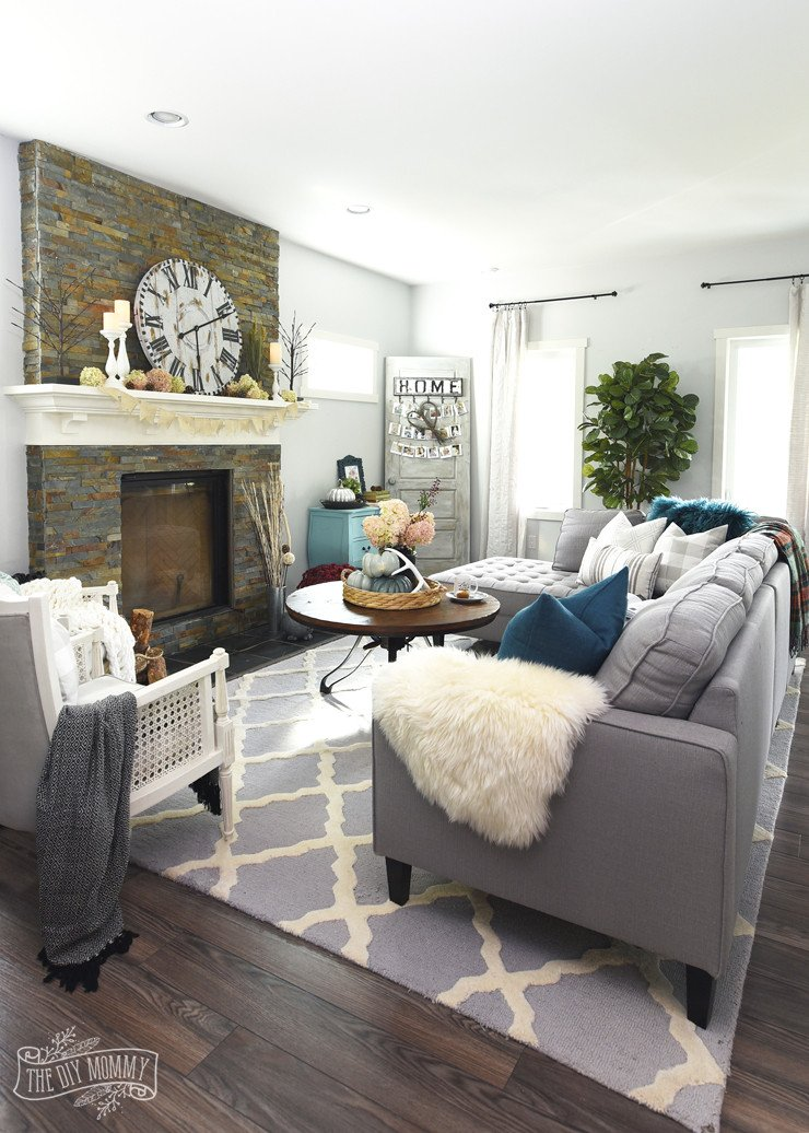 Contemporary Country Living Room Awesome My Home Style before and after Modern Boho Country Living Room