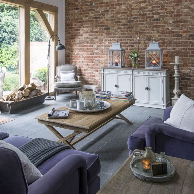 Contemporary Country Living Room Beautiful Country Living Room