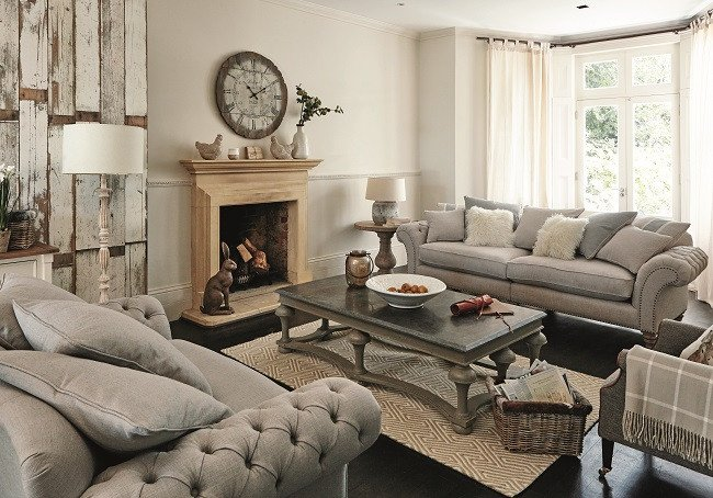 Contemporary Country Living Room Elegant Five Living Room Style Ideas