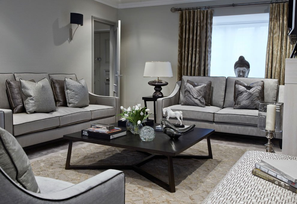 Contemporary Grey Living Room Beautiful 24 Gray sofa Living Room Furniture Designs Ideas Plans