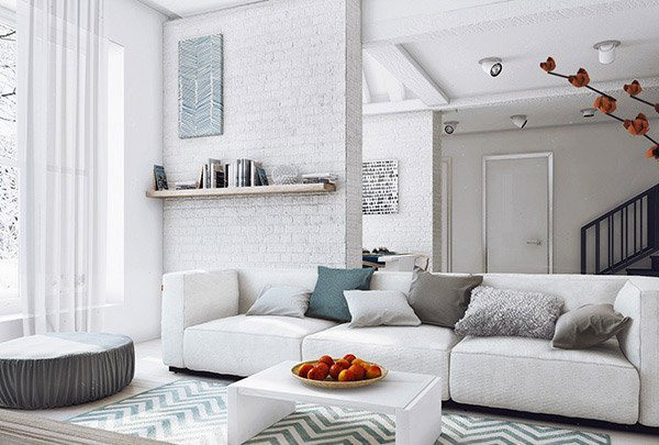 Contemporary Grey Living Room Best Of 15 Modern White and Gray Living Room Ideas