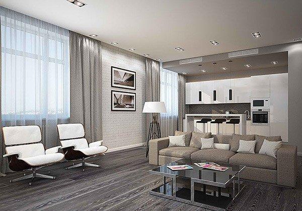 Contemporary Grey Living Room Elegant 15 Modern White and Gray Living Room Ideas