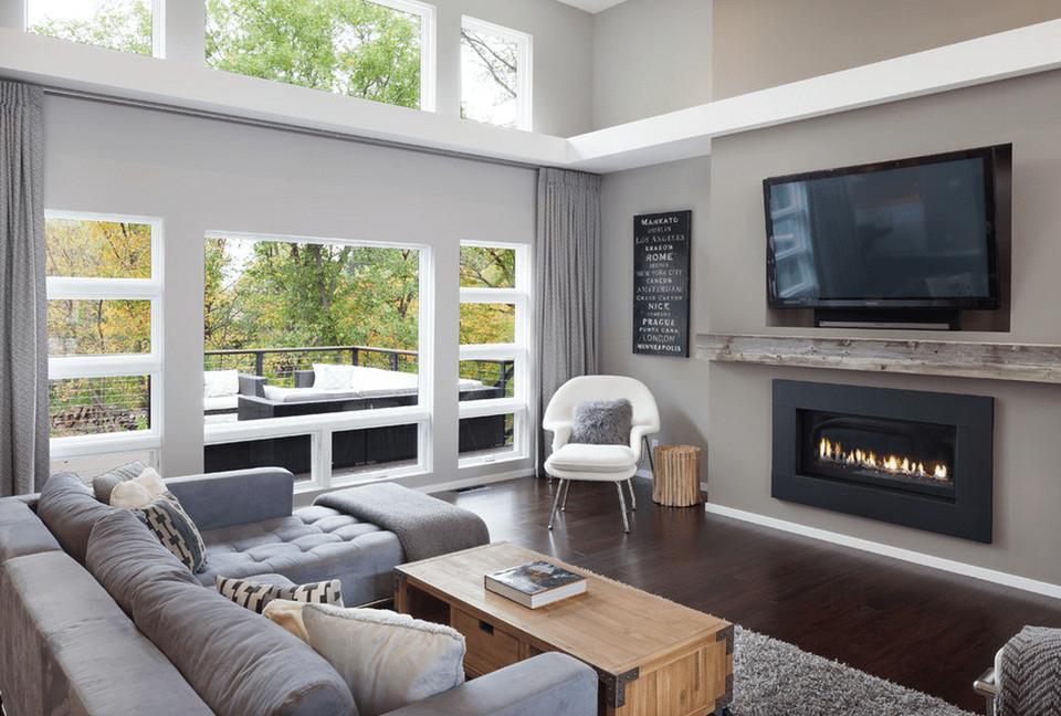 Contemporary Grey Living Room Elegant Gray Living Room Ideas