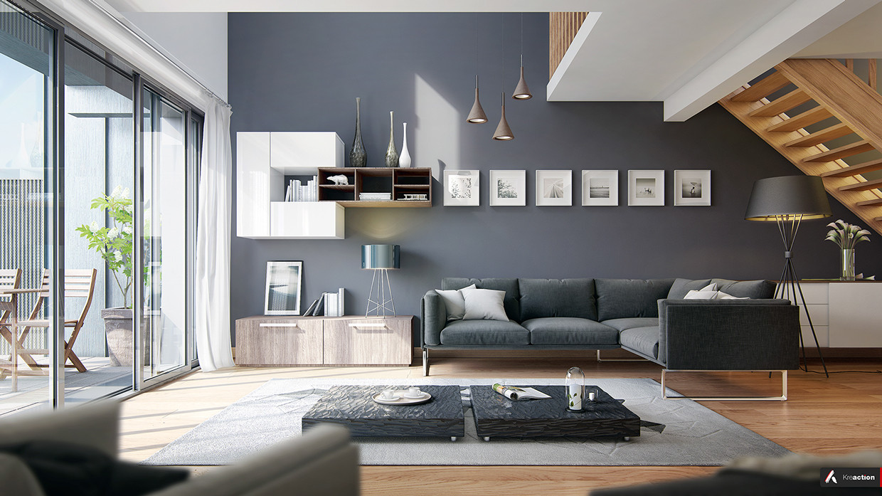 Contemporary Grey Living Room Lovely 25 Modern Living Rooms with Cool Clean Lines
