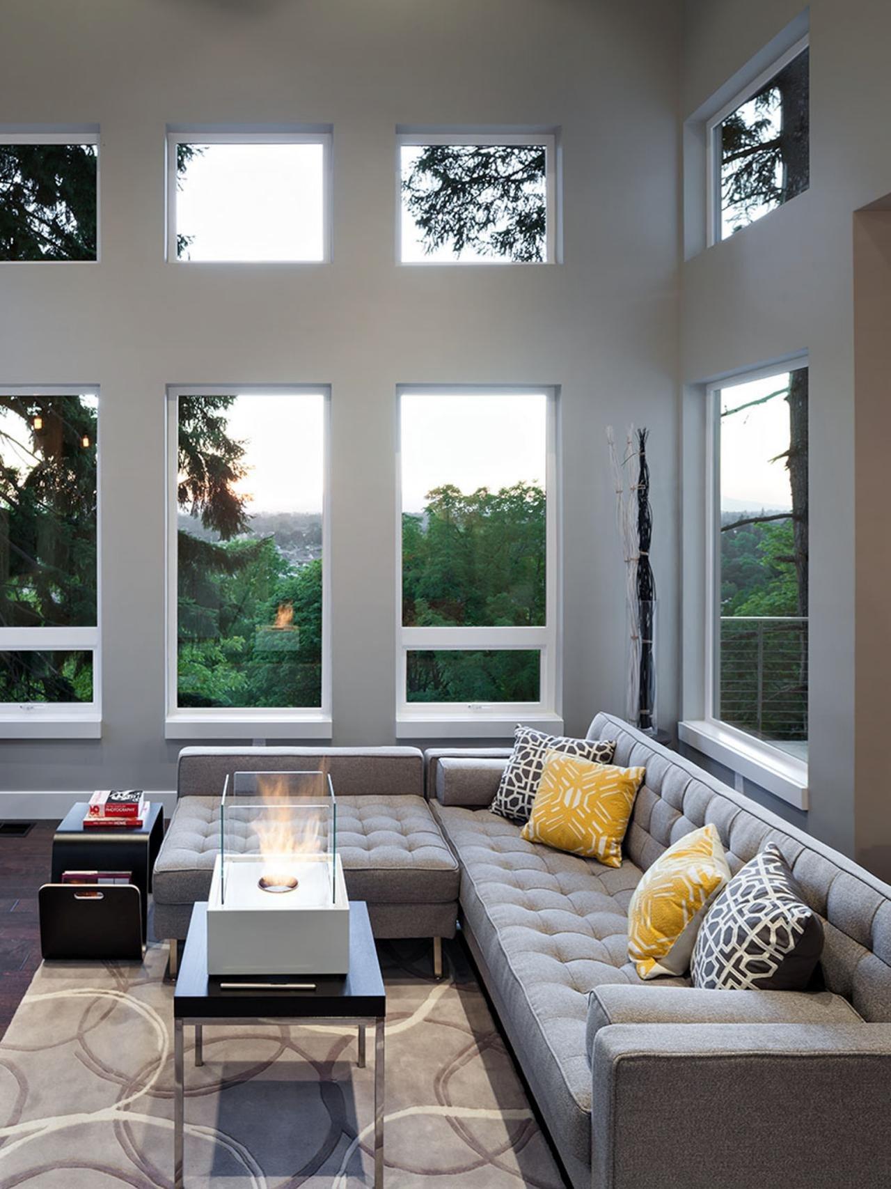 Contemporary Grey Living Room Luxury S