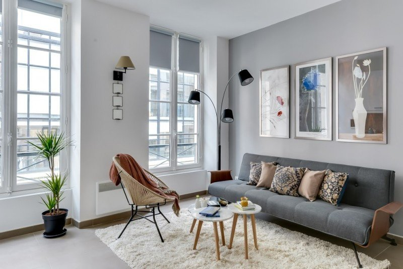 Contemporary Grey Living Room New Great Ideas Of Brown and Gray Living Room for Modern Designed Homes