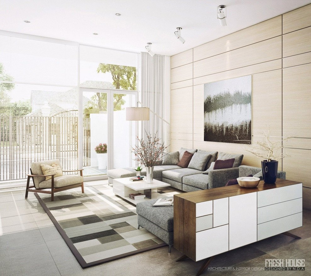 Contemporary Living Room Art Awesome Light Filled Contemporary Living Rooms