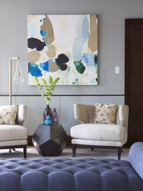 Modern Living Room Art Home Design Ideas Remodel and Decor