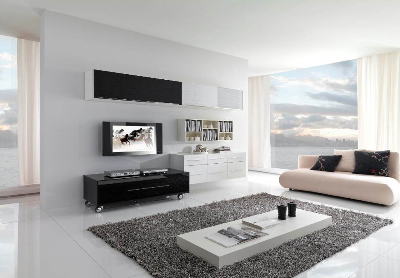 Contemporary Living Room Art Elegant 17 Inspiring Wonderful Black and White Contemporary Interior Designs Homesthetics Inspiring