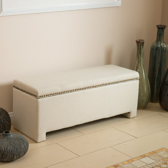 Contemporary Living Room Benches Beautiful Contemporary Living Room Bedroom Space Ft Fabric Storage Ottoman Bench Contemporary