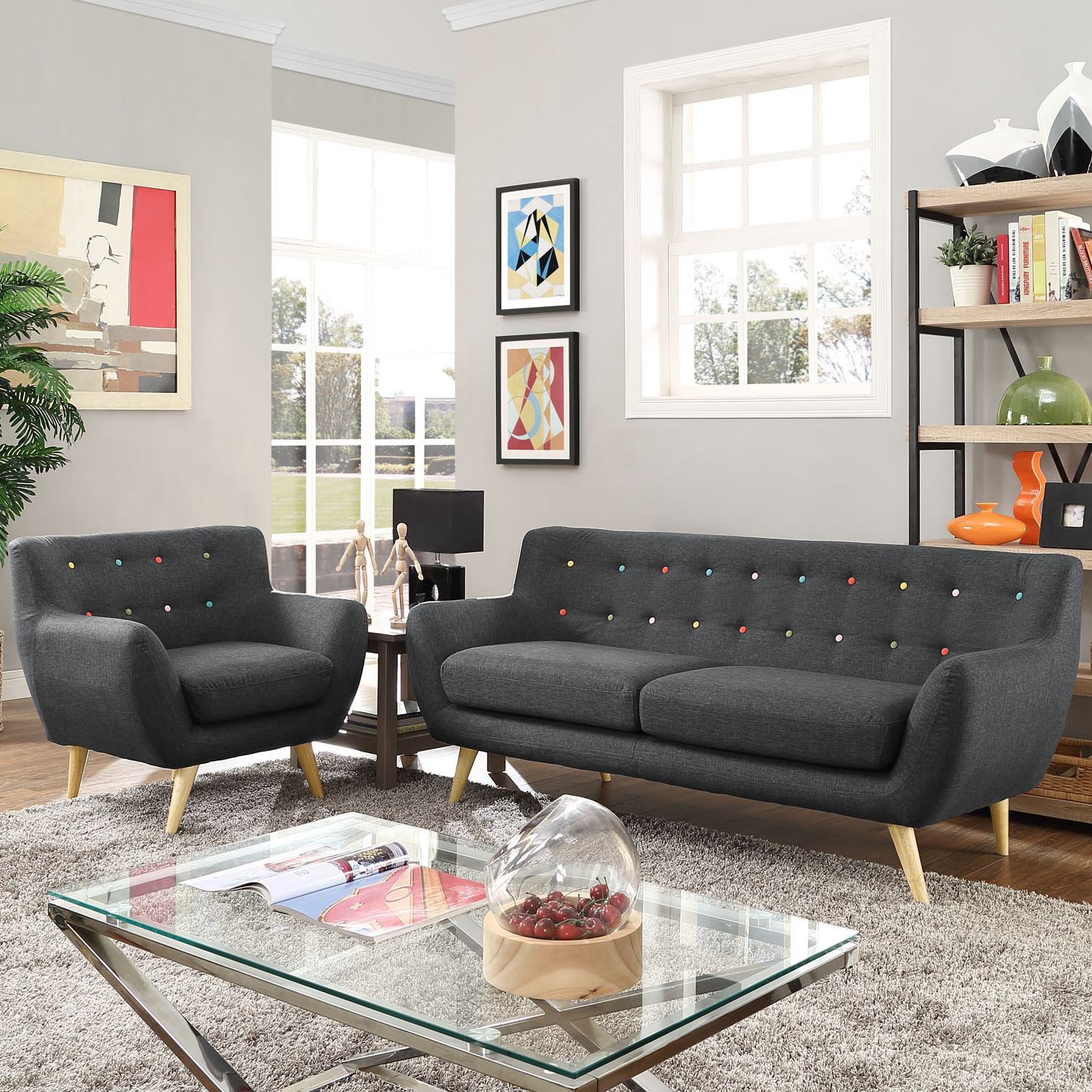 Contemporary Living Room Benches Beautiful Modern & Contemporary Living Room Furniture