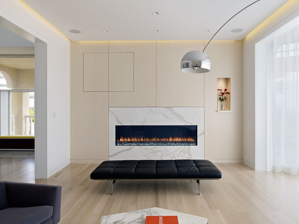 Contemporary Living Room Benches New White Oak Floors Dining Room Contemporary with My Houzz