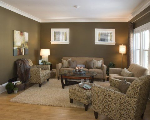 Contemporary Living Room Colors Lovely Muted Colors