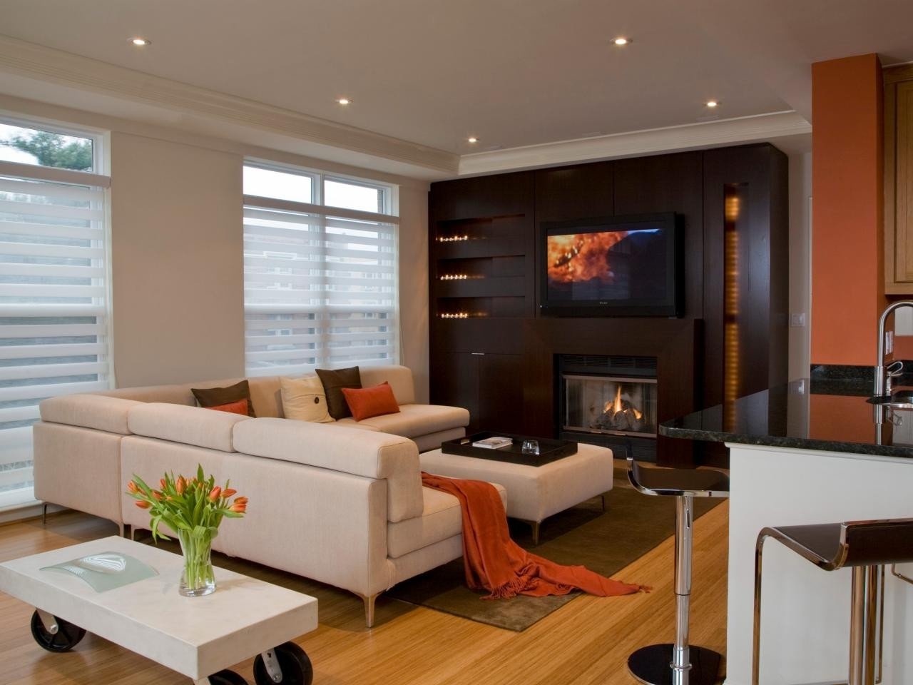 Contemporary Living Room Fireplace Beautiful 10 Ultramodern Fireplaces Living Room and Dining Room Decorating Ideas and Design