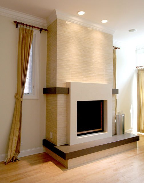 Contemporary Living Room Fireplace Beautiful Contemporary Fireplace