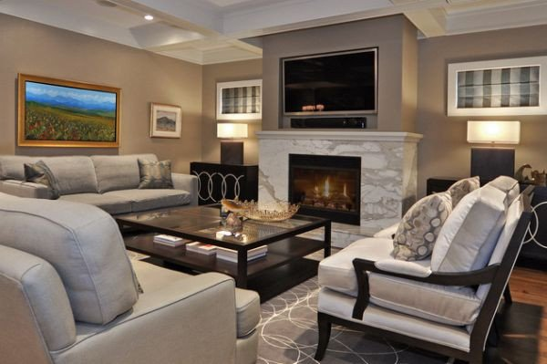 Contemporary Living Room Fireplace Best Of 125 Living Room Design Ideas Focusing Styles and Interior Décor Details Page 9