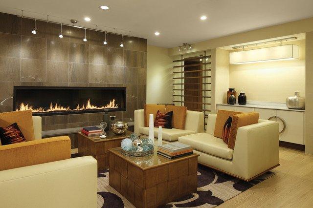 Contemporary Living Room Fireplace Elegant 7 Custom Gas Fireplace Contemporary Living Room Vancouver by Montigo Fireplaces