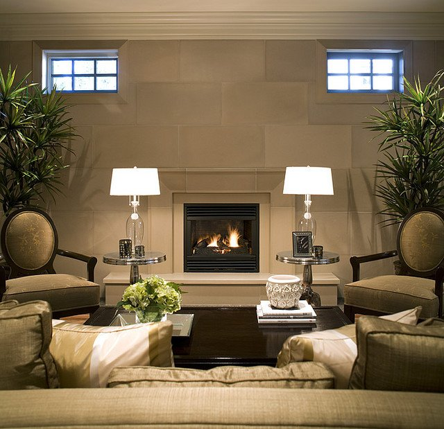 Contemporary Living Room Fireplace New Fireplace Mantels and Surrounds