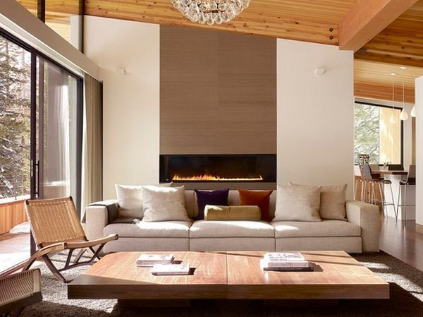 Contemporary Living Room Fireplace Unique 100 Fireplace Design Ideas for A Warm Home During Winter