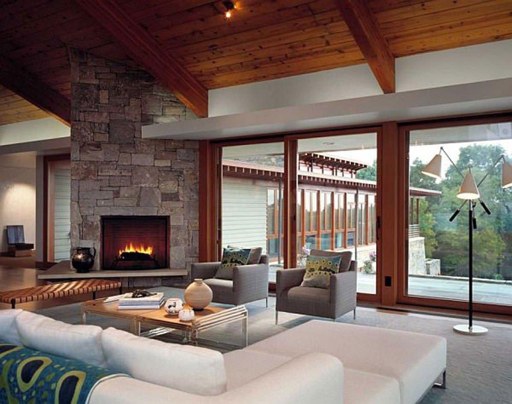 Contemporary Living Room Fireplace Unique 16 Modern Living Room Designs Decorating Ideas