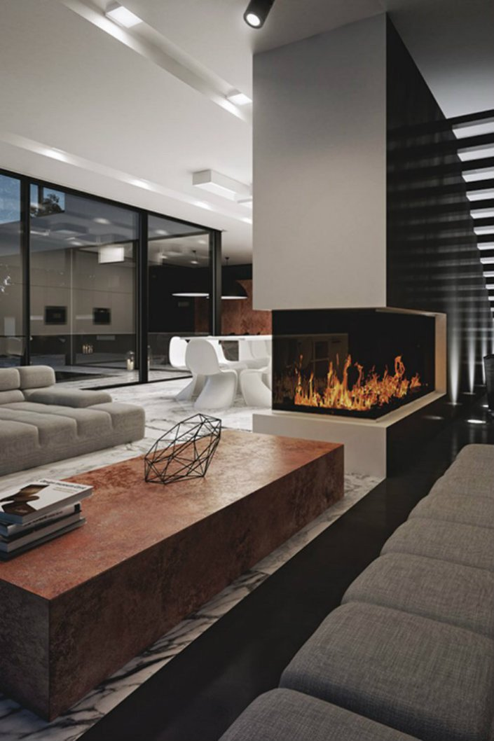 Contemporary Fireplaces for Luxury Living Rooms Contemporary Fireplaces for Luxury Living Rooms