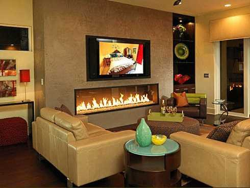 Contemporary Living Room Fireplace Unique Tv Over Fireplace Ideas An Overview Of Options