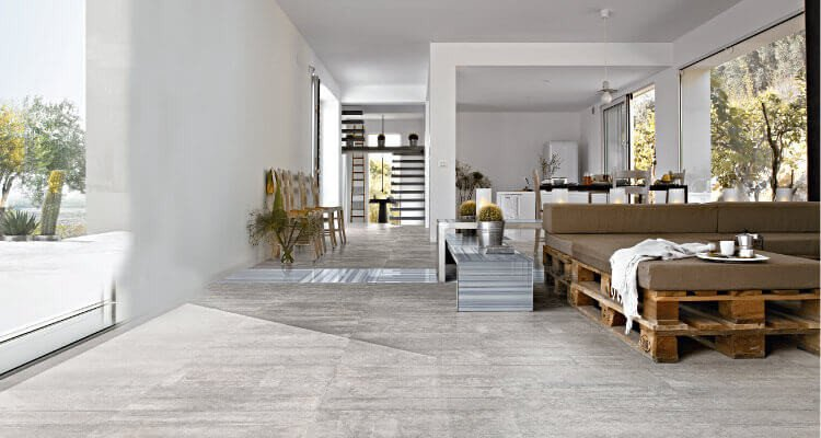 Contemporary Living Room Flooring Awesome 8 Tips to Choose the Best Tile Floors for Every Room