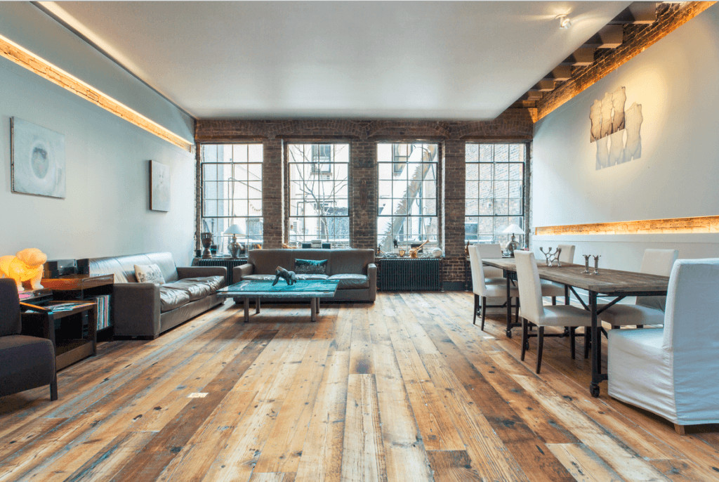Contemporary Living Room Flooring Best Of 15 Reclaimed Wood Flooring Ideas for Every Room