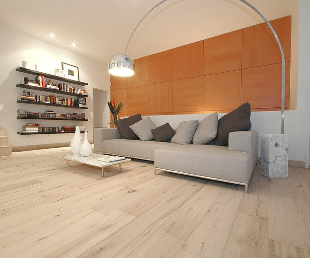 Contemporary Living Room Flooring Best Of Wide Plank Wood Floors In Living Rooms Contemporary Living Room