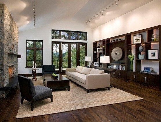 Contemporary Living Room Flooring Fresh Dark Wood Floor Living Room In Exhilarating Styles and Designs Flooring Ideas