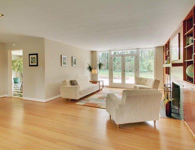 Contemporary Living Room Flooring Lovely Gallery Contemporary Living Room Dc Metro by Ambient Bamboo Floors