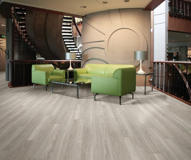 Contemporary Living Room Flooring New Luxury Vinyl Planks Contemporary Living Room Miami by Barnards Carpet E Floor & Home