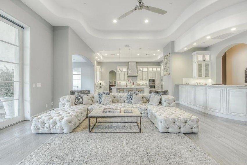 Contemporary Living Room Flooring Unique 45 Beautifully Decorated Living Rooms Designing Idea