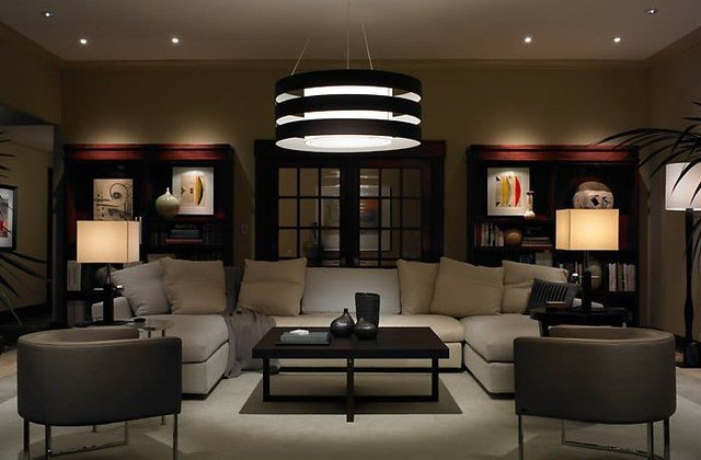 Contemporary Living Room Lamps Inspirational Contemporary and Modern Lighting Modern Living Room Chicago by northwest Lighting and
