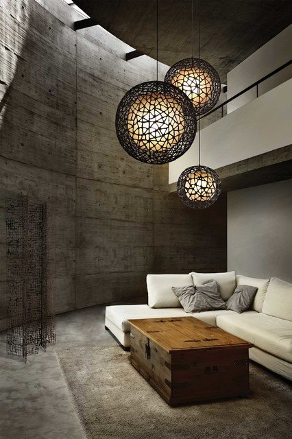 Contemporary Living Room Lights Luxury Living Room Lighting Gallery Contemporary Pendant Lighting Other by Lightology