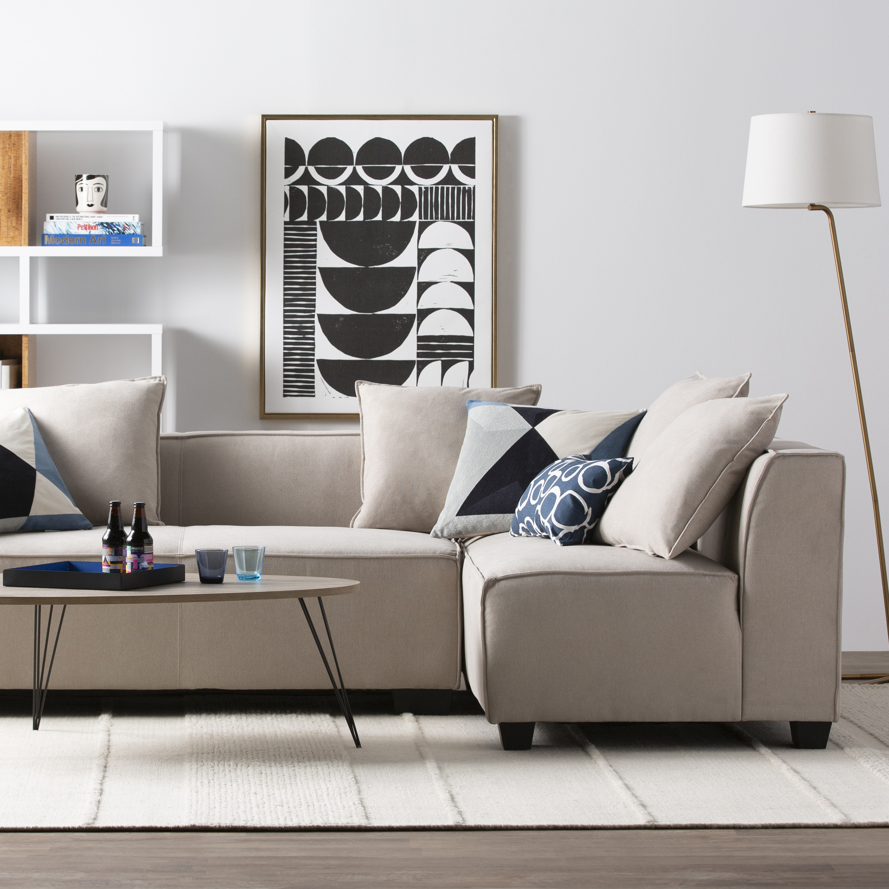 Contemporary Living Room sofas Beautiful Modern & Contemporary Living Room Furniture