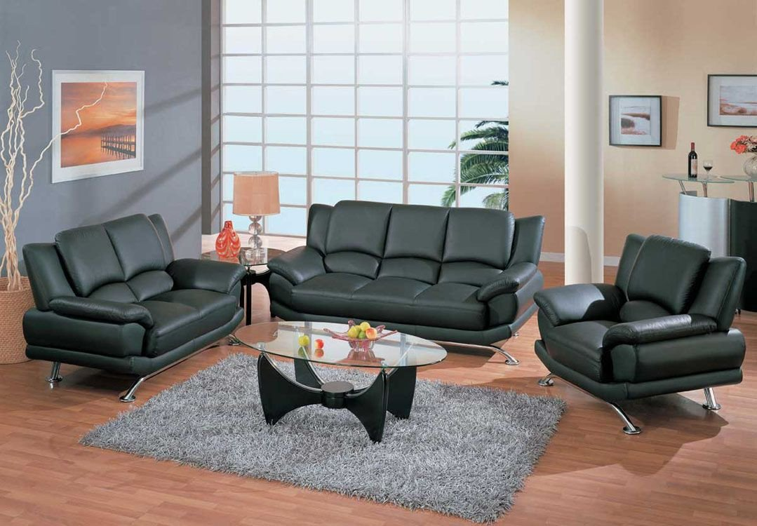 Contemporary Living Room sofas Best Of Contemporary Living Room Set In Black Red or Cappuccino Leather San Jose California Gf9908