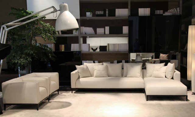 Contemporary Living Room sofas Fresh California Modern sofa and Armchair Contemporary Living Room orange County by Cressina