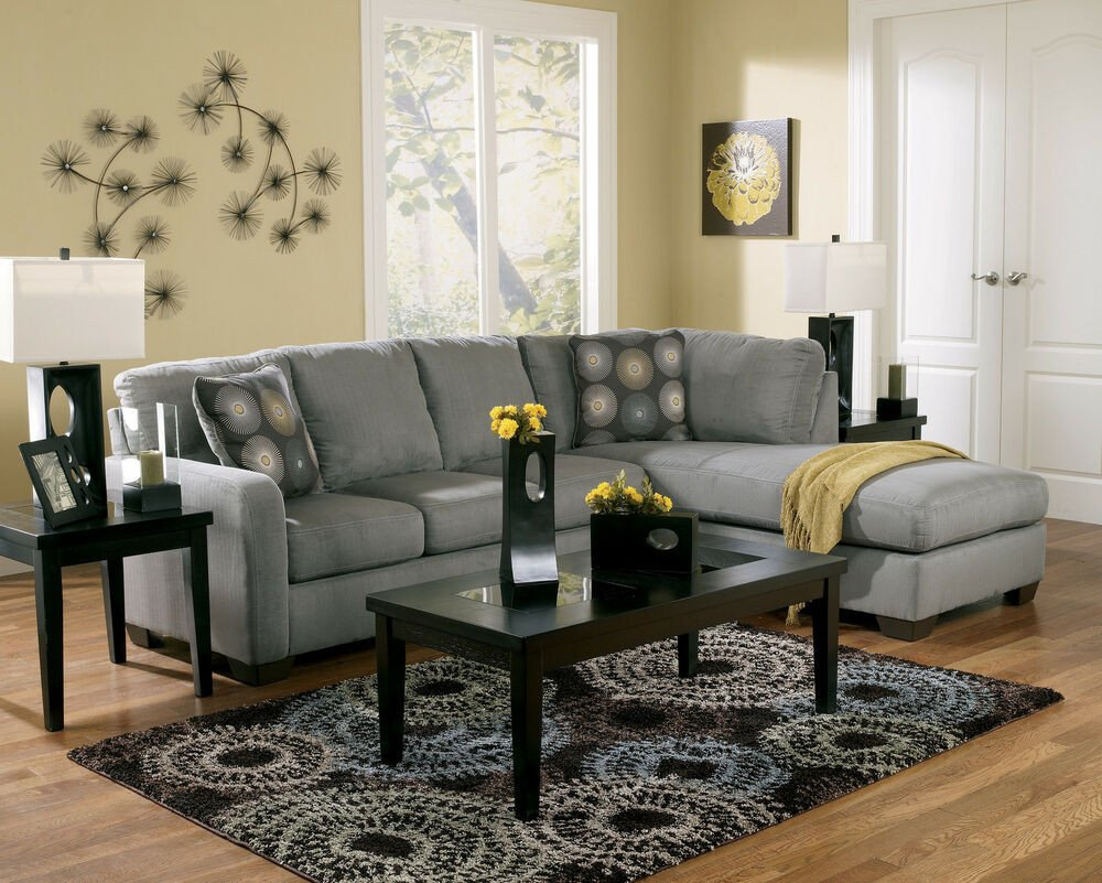 Contemporary Living Room sofas Lovely Contemporary Charcoal Sectional Modern Couch Living Room Furniture sofa W Chaise