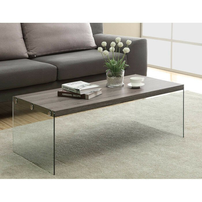 Contemporary Living Room Tables Luxury Contemporary Coffee Table Glass Wood Living Room Furniture Modern New Shelf Home