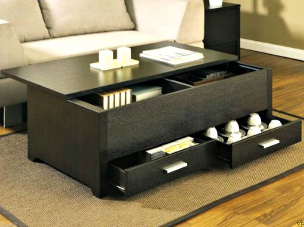 Contemporary Living Room Tables Luxury Modern Coffee Table W Storage Living Room Tables Wood Contemporary Furniture