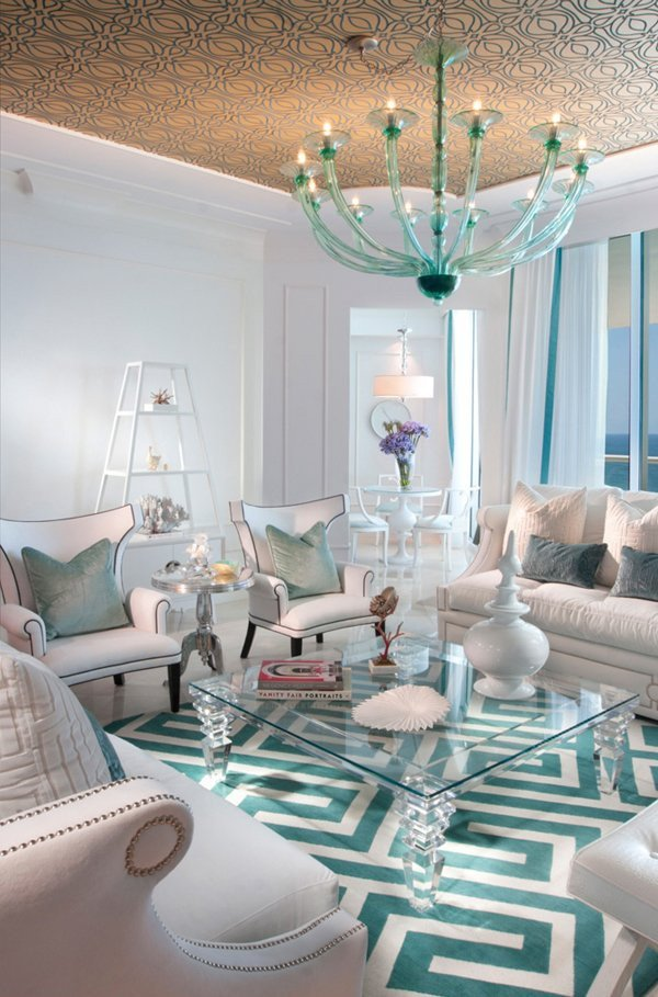 Contemporary Living Room Turquoise Awesome 15 Scrumptious Turquoise Living Room Ideas