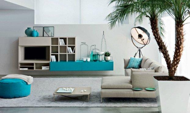 Contemporary Living Room Turquoise Awesome Living Room Design Ideas by Novamobili Decoholic