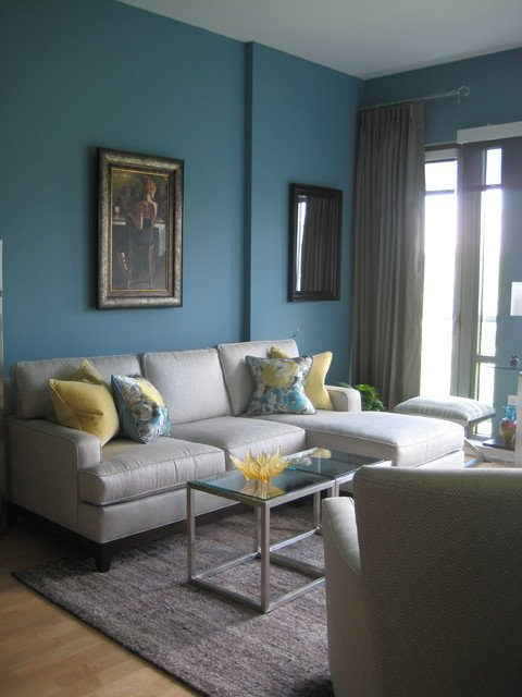 Contemporary Living Room Turquoise Awesome Turquoise and Yellow Living Room