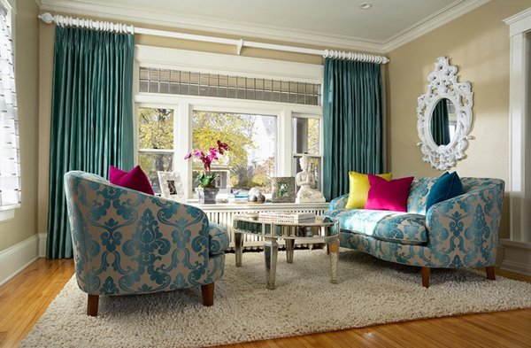 Contemporary Living Room Turquoise Beautiful 15 Scrumptious Turquoise Living Room Ideas