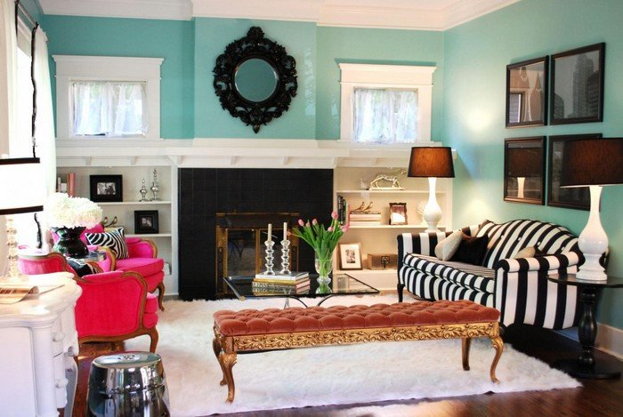 Contemporary Living Room Turquoise Best Of Eclectic Interior Design Style Ideas – Home and Decoration