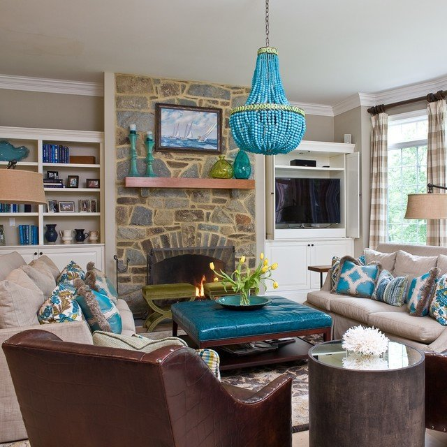 Contemporary Living Room Turquoise Best Of Turquoise