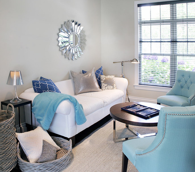 Contemporary Living Room Turquoise Best Of Turquoise sofa Contemporary Living Room House to Home