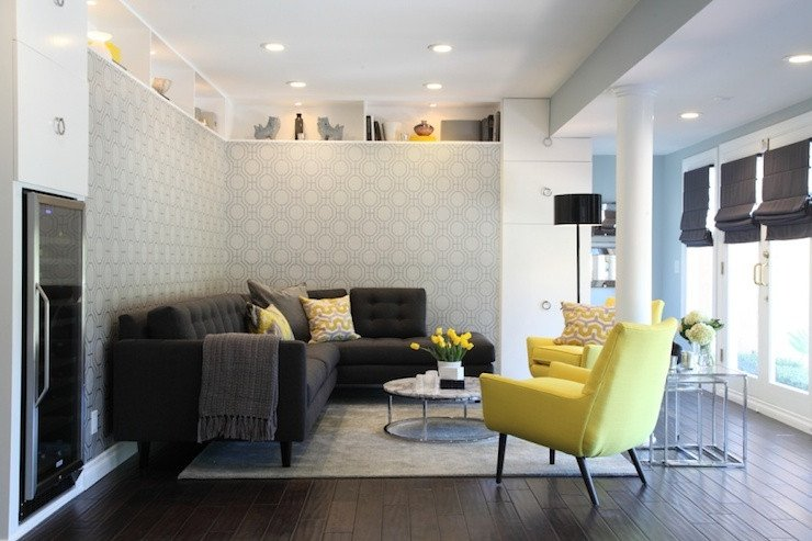 Contemporary Living Room Turquoise Inspirational Yellow and Gray Living Room Contemporary Living Room Turquoise La
